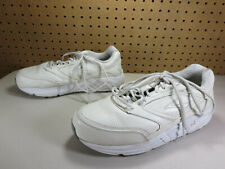 Brooks womens solid white Addiction walking shoes 10 D VGUC