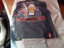 Marvel Avengers boys full length pyjamas set NAVY / GREY MARL long sleeve age 8