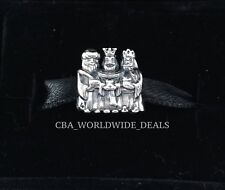NEW Authentic PANDORA Sterling Silver Two Tone Three Wise Men Charm 791233