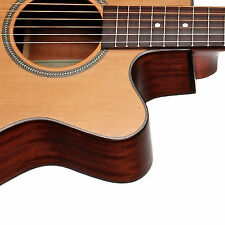 Teton STG105CENT Acoustic-Electric Grand Concert Guitar ONLY Solid Cedar Top