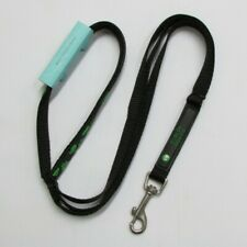 Black Nylon Dublin Dog You Should Be So Lucky Dog Lead Leash 5/8in x 5ft