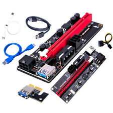 6pin Pci-E Express Usb3.0 1X To16X Extender Riser Card Adapter Power Cable Cord