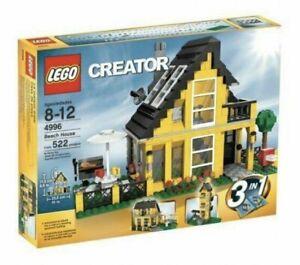 Lego Creator Beach House 4996 - 3 In 1 Set