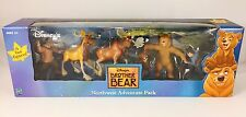 New In Box Disney's Brother Bear Northwest Adventure Pack 6 Fun Figures Playset
