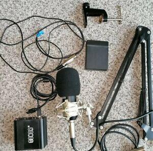 Ham radio boom microphone