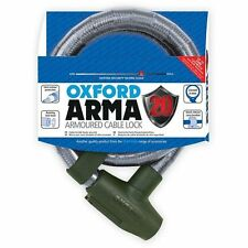 Oxford Arma20 Armoured Cable Lock (Clear)