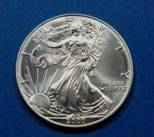 2000 American Silver Eagle  Walking Liberty Coin 1oz .999