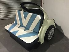 Classic VW Beetle Sofa Beetle Booth Cool Couch VW bug Seat Car Furniture Herbie