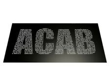 20 x Ultras ACAB Lettering Football Stickers