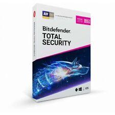 Bitdefender Total security 2019 Licenza 1 PC 1 Anno ESD