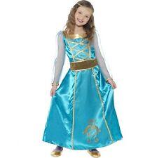 Girls Medieval Princess Maid Fancy Dress Costume Book Week Smiffys 44105 M - Medium