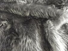 "Plain Faux Fur 14 mm soft pile ideal for Clothing, throws Fabric 58"" Wide MT930"