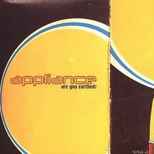 Are You Earthed? * by Appliance (CD, Mar-2003, Mute) PROMO