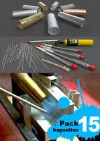 DURAFIX-EASYWELD 15 varillas para soldar aluminio + cepillo de acero inox GRATIS