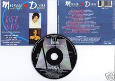 "Michael JACKSON & Diana ROSS ""Love Songs"" (CD) 1987"