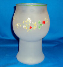 PFALTZGRAFF WINTERBERRY FROSTED FLOATING CANDLE HOLDER AND CANDLE