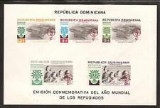 Dominican Rep. # B31-3,Cb19-20 Mnh World Refugee Year
