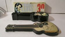 Elvis Presley 30th Anniversary Commemorative Watch In Metal Guitar Gift Tin  NEW