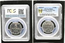 3 Mark Aluminium 1922 F   Polierte Platte (PP, Proof) PCGS PR66