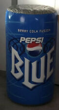 Vintage Pepsi Blue Berry Cola Fusion Can Blow Up Inflatable Case Fresh New