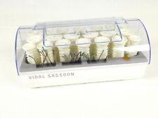 Vidal Sassoon Heated Curlers Rollers Hairsetter VS321 20 plus Clips