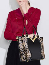 Exquisite Sequined Hand Bags For Women - Black (ESG070571)