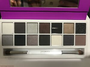 Clinique PARTY EYES All About Shadow Palette 14 Eyeshadow Colors NEW IN BOX