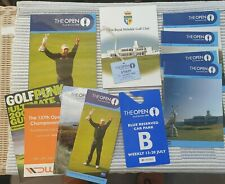 More details for 2008 open championship programme and much more