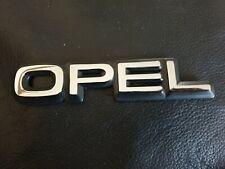 Opel Rear Boot Badge Corsa Astra Calibra Nova Cavalier