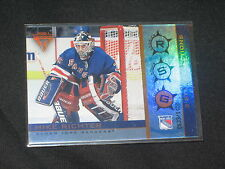 MIKE RICHTER RANGERS STAR GENUINE AUTHENTIC LIMITED EDITION HOCKEY CARD /1400
