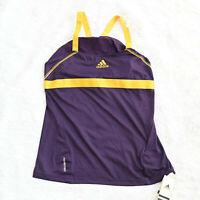Adidas Clima Cool Purple sports top T-shirt  Formotion - Size M Sleeveless