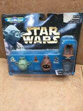 K3 star wars MICRO MACHINES Yoda Empire Strikes Back Dagobah Mini Head Playset