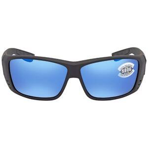 Costa del Mar Cat Cay Blackout Frame / Blue Mirror 580G Lenses AT 01 OBMGLP