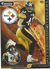 TROY POLAMALU PITTSBURGH STEELERS USC TROJANS FATHEAD TRADEABLES 2008 A23
