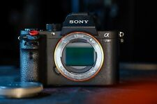 Sony a7rII (body only) ILCE-7RM2 used with read descript + accessories