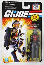 """Gi Joe 2008 Cartoon Series 3 3/4"""" Cobra Frogman Eel Action Figure Moc Hasbro"""