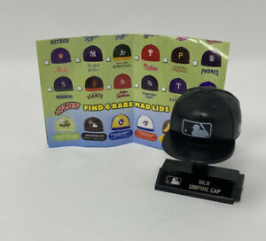 MLB Mad Lids Series 1 Rare MLB UMPIRE CAP Odds 1:64 Packs Ump Mini Hat Toy