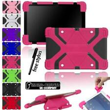 "Shockproof Silicone Stand Cover Case For Various 10.1"" MEDIACOM SmartPad WinPad"