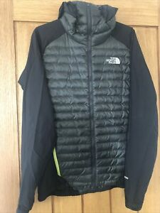 The North Face Mens Verto Prima Micro Hoodie Jacket 800 Down Hybrid, Small