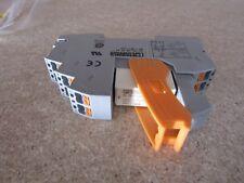 Phoenix RIF1 DPDT DIN Rail Non-Latching Relay, 24V ac Coil 50 mA A8 7943718