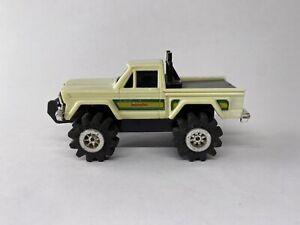 """Vintage 1980s Schaper Stomper JEEP """"HONCHO"""" Pickup Truck - White 4x4 - VHTF"""