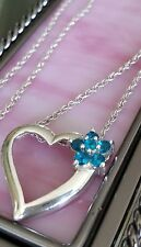 Vintage Sterling Necklace & Heart Pendant