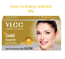 VLCC Natural Gold Single Facial Kit For Luminous Glowing Look 60g Set of 6