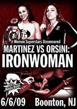 WSU Womens Wrestling - Ironwoman DVD Mercedes Martinez Angel Orsini