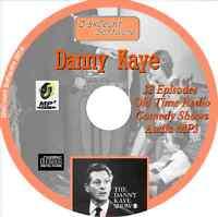 Danny Kaye - 30 Old Time Comedy Radio Shows - Audio MP3 CD OTR