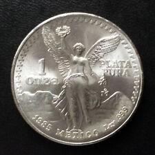 1985 Mexico Onza Silver Libertad KM #494.1 A5657