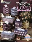 Tissue Cover Elegance, 7 Styles plastic canvas pattern booklet NEW rare