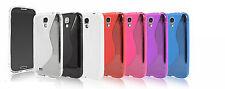 ^ TPU Silikon Schutz Hülle Cover Handy Tasche für ver. Huawei Handys