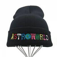 Travis Scott Knitted Hat ASTROWORLD Beanie - Travi$ Scott - Adult & Teenager