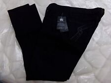 Womens Size 30 Rock & Republic Black Low Rise Skinny Jeanie Jeans NEW